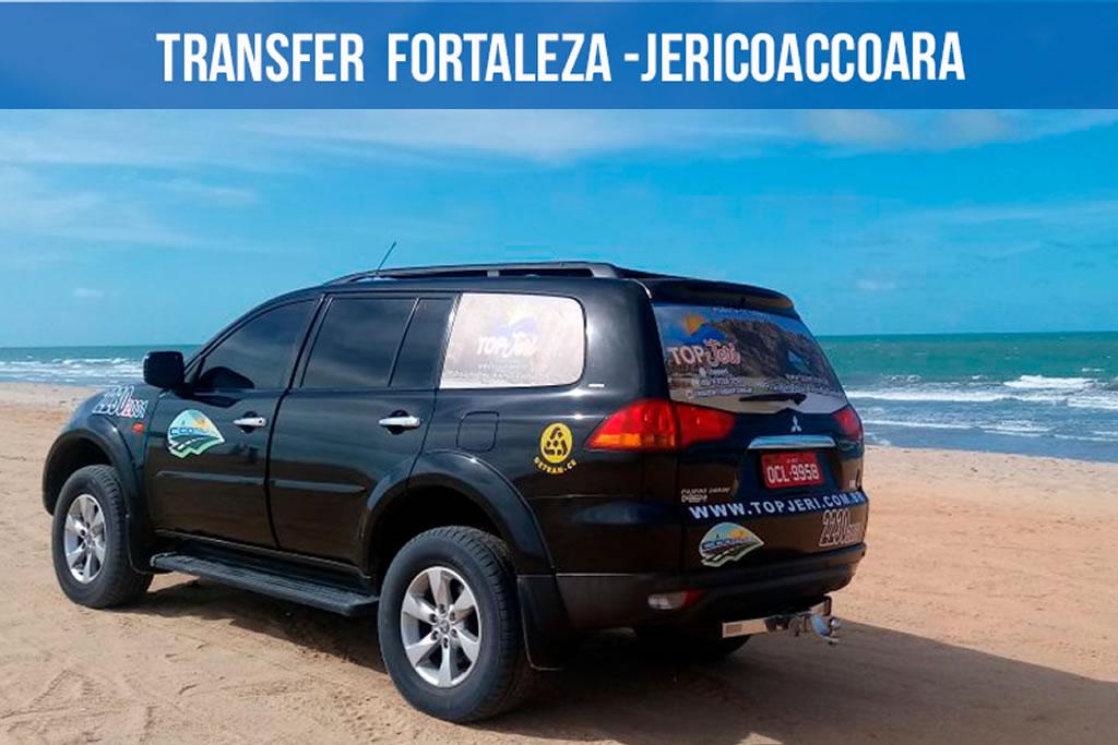 Top Jeri 4x4: Transfer Fortaleza - Jericoacoara