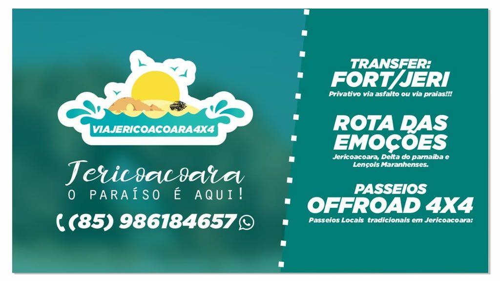 Via jericoacoara 4x4 - Transfer e Passeios