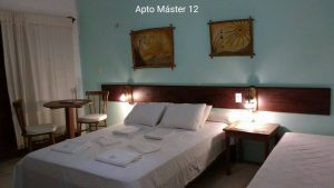 Apartamento master 12 - Pousada Casa do Angelo - Jericoacoara