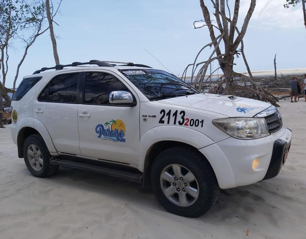 Veículo da Paraiso Tur - Jericoacoara