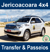 jericoacoara 4x4 transfer e passeios