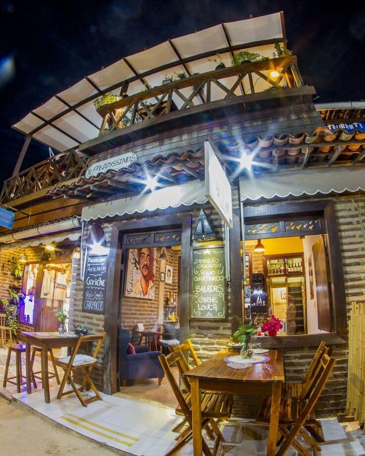 restaurante freddyssimo jericoacoara