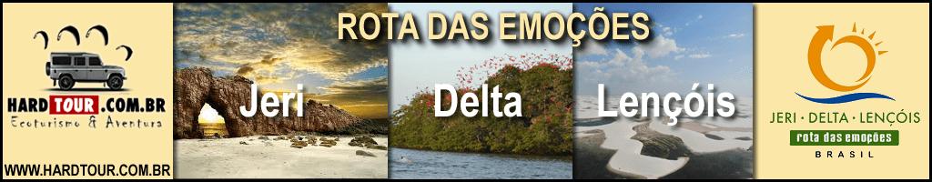 Hertour - rota das emoções - jeri - delta - lençóis
